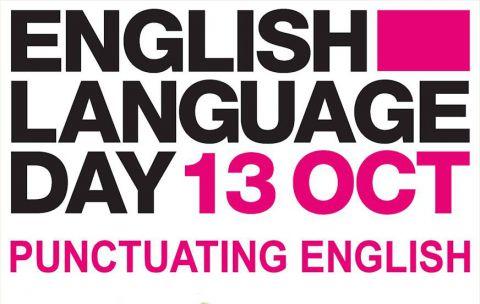 English Language Day 2015 Punctuating English